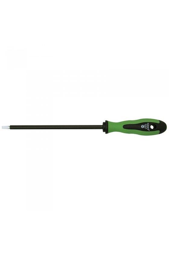 101522 Destornilladores planos para electricistas 4x100mm con revestimiento de tubo flexible