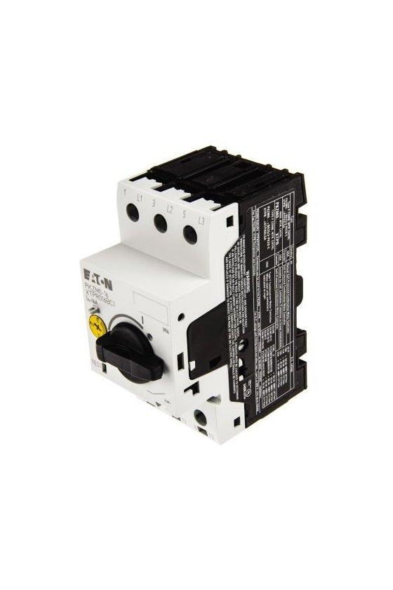 88915 Interruptor automático de protección de transformador, 3p, Ir  -4-6.3A - PKZM0-6,3-T