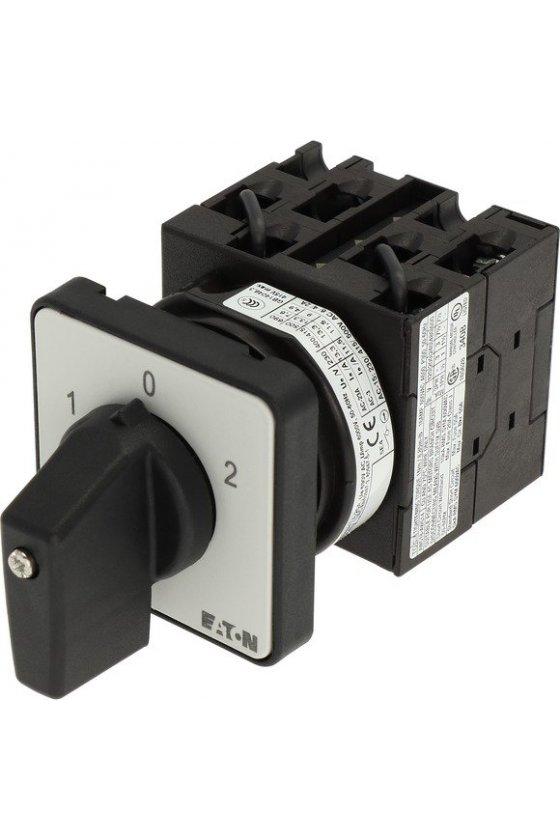 91047 Interruptores de inversión, T0, 20 A, montaje empotrado, 3 unidad (es) de contacto, Contactos: 5, 60 ° - T0-3-8401/E