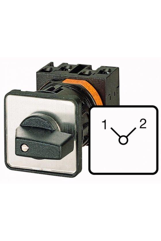 95799 Interruptores de cambio, T0, 20 A, montaje central, 1 unidad (es) de contacto, Contactos: 2, 90 ° - T0-1-8220/EZ