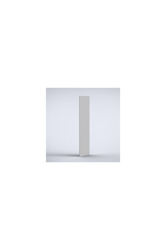 SPM2206R5 Paneles laterales chapa de acero 2200x600mm (2 piezas) RAL7035 IP56/NEMA 4