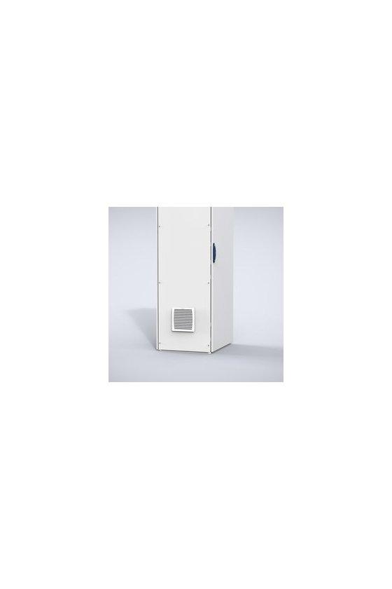 EF600-115R5 Ventilador con filtro 115V AC 60Hz, Caudal 653m³/h, IP54/NEMA12