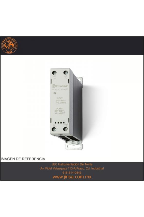 77.45.9.024.8250 Series 77 - Relé de estado sólido modular (SSR) 5 - 15 - 30 A
