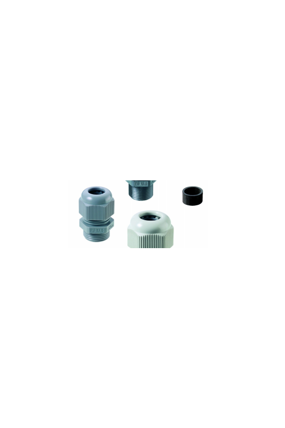 50.009 PA/SW Conector glándula  Pg 9 Poliamida Negra