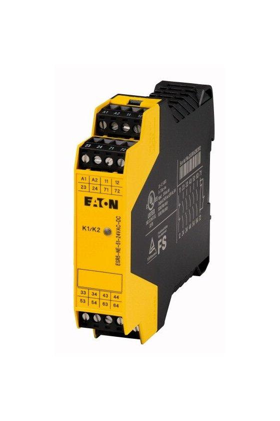 118707 Módulo de expansión de contacto, 24 V CC / CA, 5 rutas de activación - ESR5-NE-51-24VAC-DC