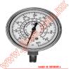 """PFG1730 MANOMETRO MEDIDOR DE REFRIGERACION CARATULA PLASTICO DE 2.5"""" CONECCION INFERIOR 1/8"""" NPT"""