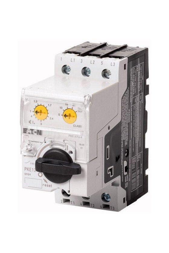 121731 Interruptor automático de protección del motor, 3p, Ir - 0.3-1.2A, estándar - PKE12/XTU-1,2