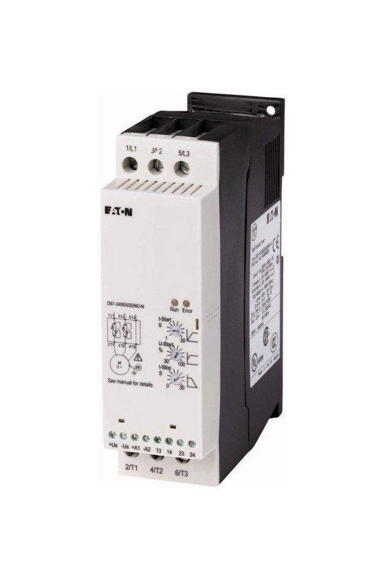 134932 Arrancador suave, 32 A, 200-480 V CA, Us - 110-230 V CA, Tamaño de bastidor FS2 - DS7-342SX032N0-N