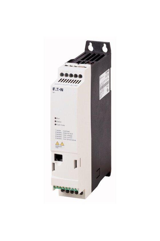 177362 Arrancador de velocidad variable, voltaje de funcionamiento nominal 230 V CA -DE1-124D3NN-N20N