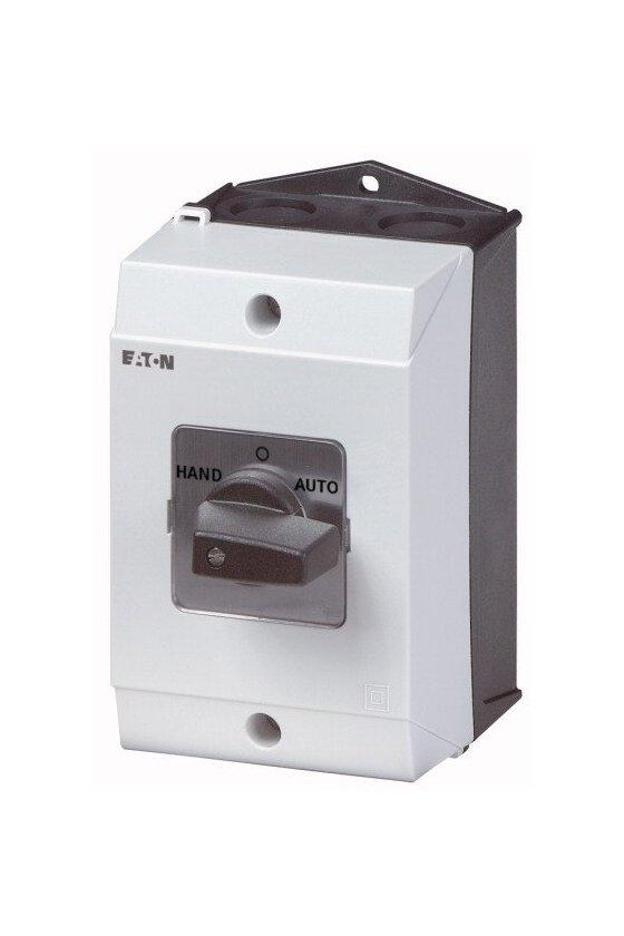 207183 Switch de cambio, T3, 32 A, montaje en superficie, 3 unidad (es) de contacto, Contactos: 6, 60 ° - T3-3-8212/I2