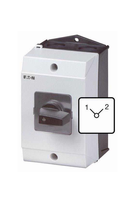 207185 Interruptor de cambio, T3, 32 A, montaje en superficie, 3 unidad (es) de contacto, Contactos: 6, 90 ° - T3-3-8222/I2