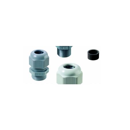 50.620 PA7035 Conector tipo glándula M20 PA RAL7035 IP68