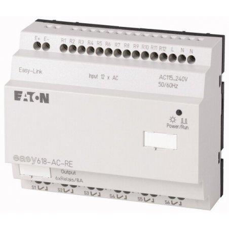212314 Expansión de E / S, 240 VCA, 12DI, relés 6DO, easyLink - EASY618-AC-RE
