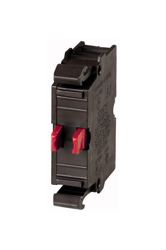 216378 Elemento de contacto, 1 N / C, montaje frontal, 6. contacto, conexión por tornillo - M22-K01