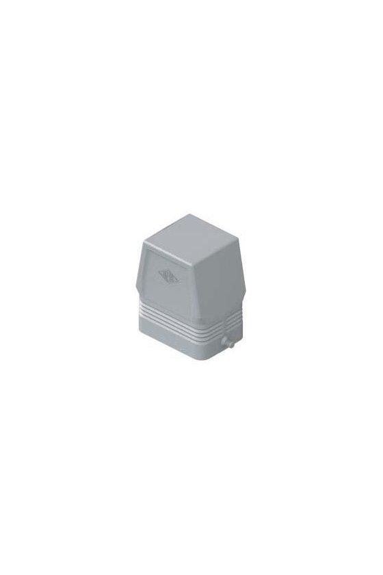 CAC 06 L Cubierta metálica cierre sencillo H-6P sin entrada