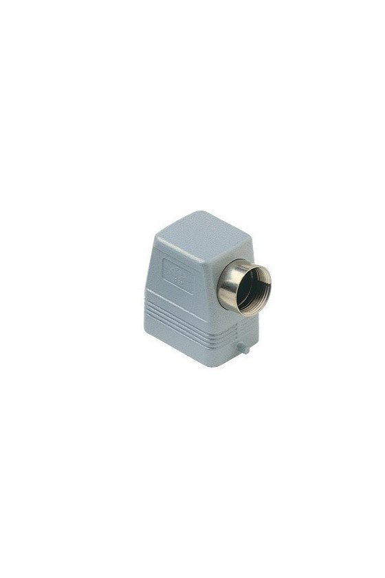 CAO 06 L29 Cubierta metálica cierre sencillo H-6P-PG29 entrada lateral