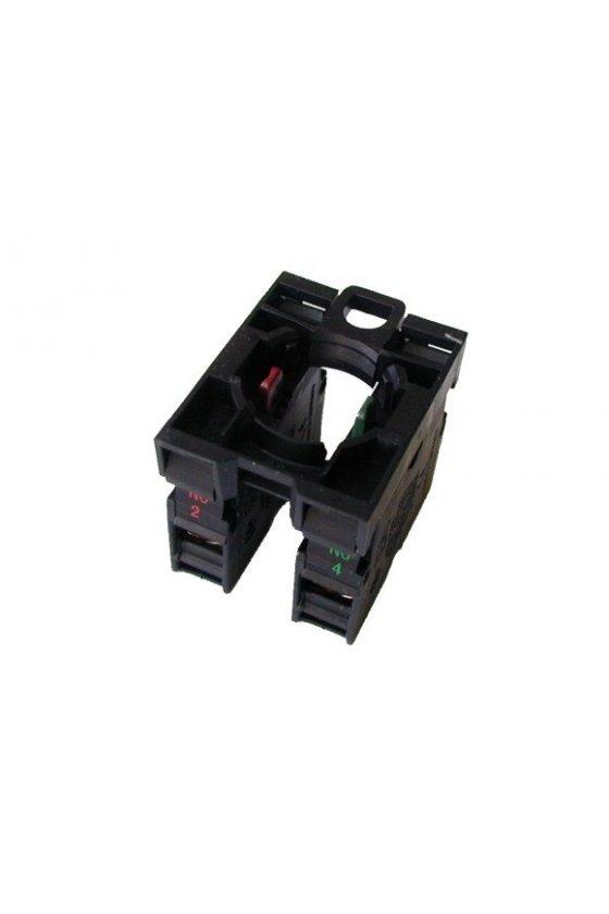 216505 Elemento de contacto, 1N/O más 1N/C, montaje frontal, conexión por tornillo - M22-AK11