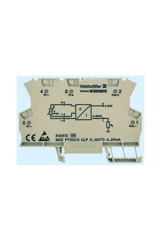8473000000 MCZ- SERIES, Convertidores de señales de temperatura MCZ PT100/3 CLP -50C...+150C