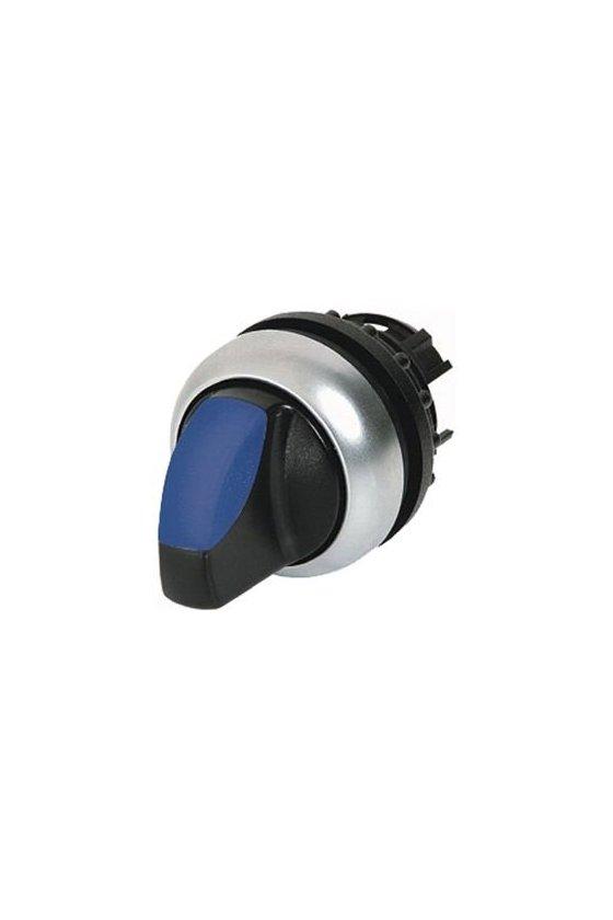 216820 Actuador de interruptor selector iluminado, RMQ-Titan, con empuñadura, momentáneo, 2 posiciones - M22-WLK-B