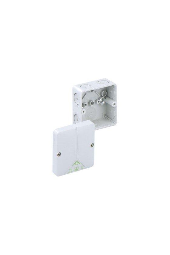 80290701 caja para conexiones 80x80x52mm IP65 Abox 025-L
