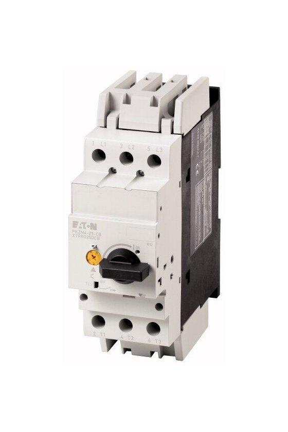 132591 Interruptor automático, Ir - 10-16 A, terminales de tornillo, terminaciones: IP2X - PKZM4-16-CB