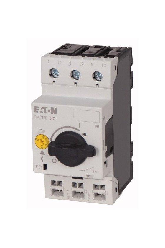 229836 Interruptor automático de protección del motor, 3p, Ir - 4-6.3A, conexión de tornillo - PKZM0-6,3-SC