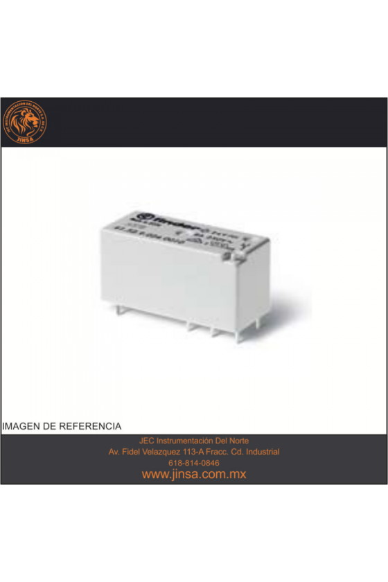 41.81.7.024.9024 Series 41 - Mini-relés para circuito impreso 3-5-8-12-16 A, bajo perfil
