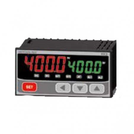 HX301 Control de temperatura digital 1/8 Din  96 x48 mm  entrada multi-input , salidas  SSR + Rele +