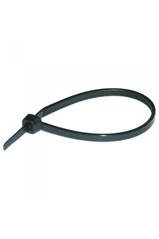 262602 Sujetacables black UV-resistant 100x2.5 mm (100 piezas)