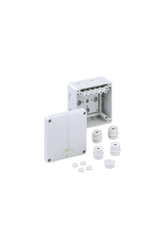 80640701 Caja de conexión 110x110x67mm Abox 060-6²