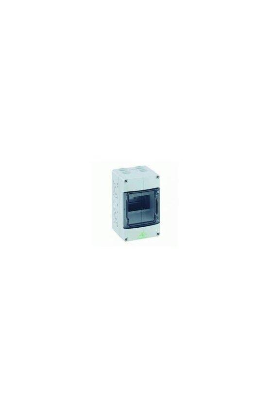 73640501 Caja de distribución de Policarbonato 125x200x122mm 5 módulos in/out IP65 AKi 05