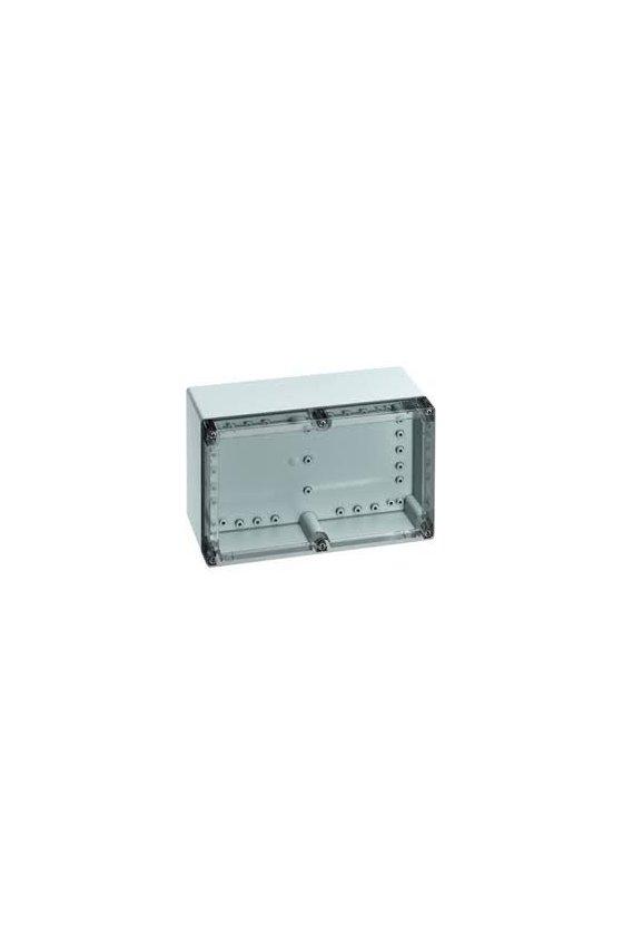 20091201 Caja vacía de Policarbonato 252x162x120mm IP66/67 TG PC 2516-12-o