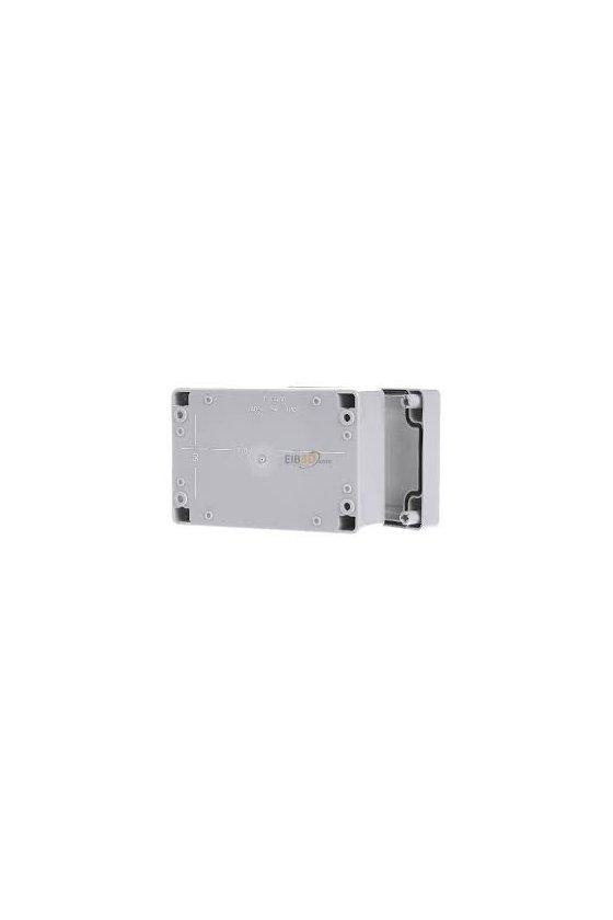 20040701 caja vacía policarbonato 162x122x90mm IP66/67 TG PC 1612-9-o