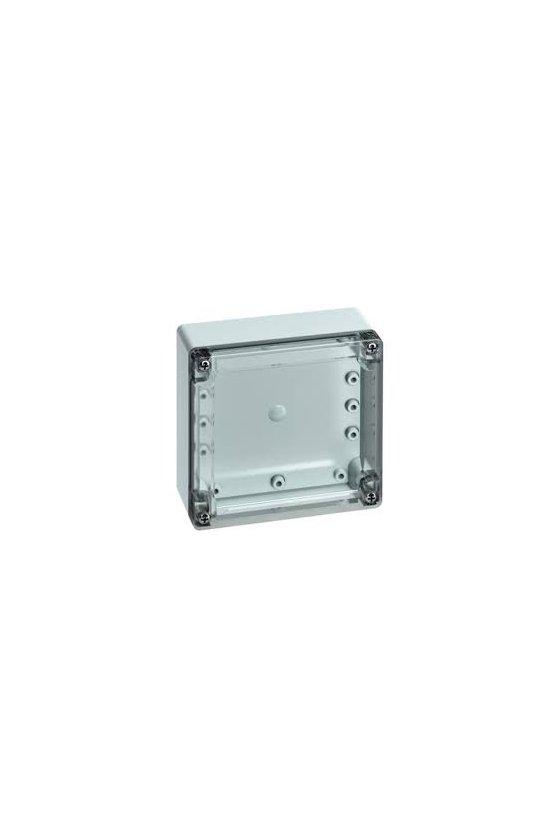 20040501 Caja vacía de Policarbonato 124x122x55mm IP66/67 TG PC 1212-6-o