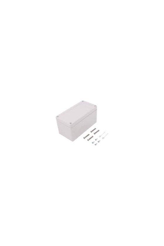 20090601 Caja vacía de Policarbonato 162x82x85mm IP66/67 TG PC 1608-9-o