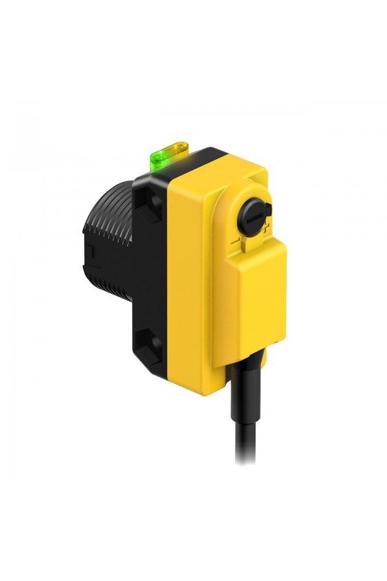 61627 Sensor fotoelectrico polarizado retro QS18VN6LP