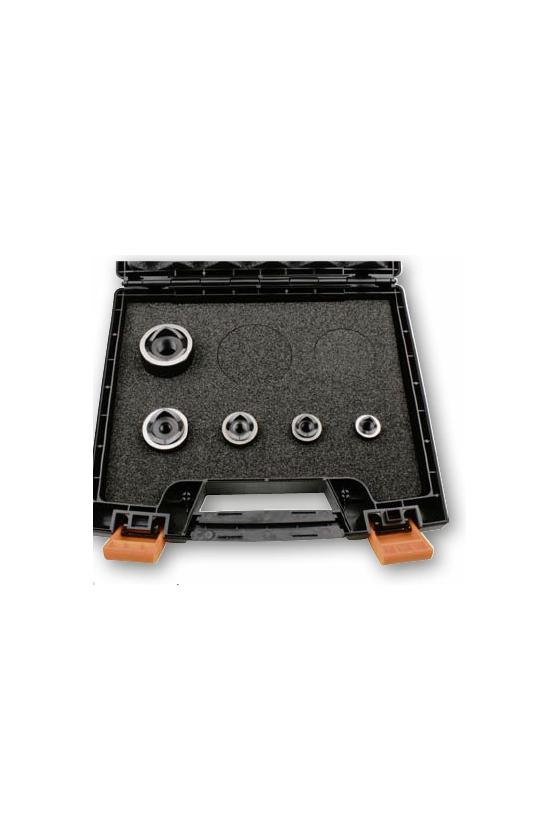 01290 Set de punzones métricos M16/M20/M25/M32/M40