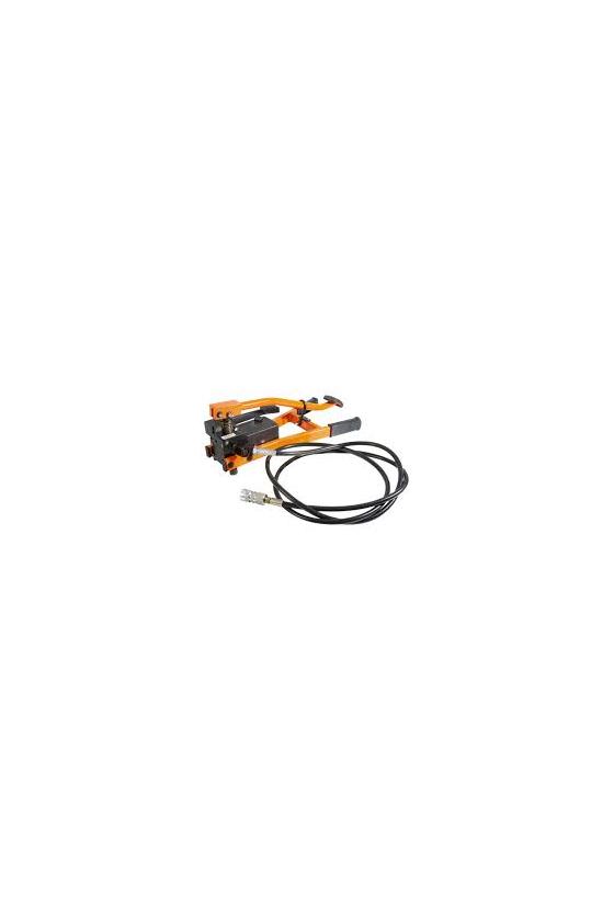 02121 Bomba hidraúlica de pie con manguera de 2.8m