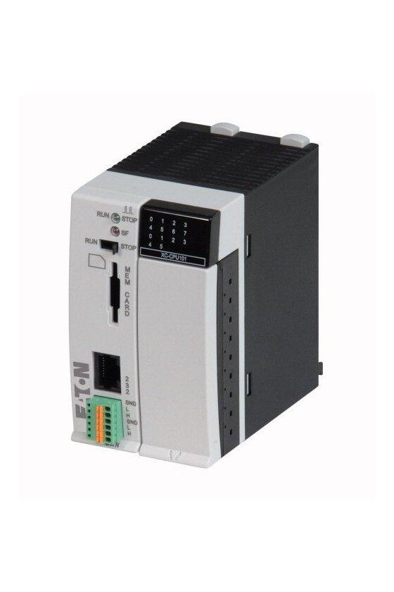 262152 PLC modular, 24 V CC, 8DI, 6DO, RS232, CAN, 64kB - XC-CPU101-C64K-8DI-6DO