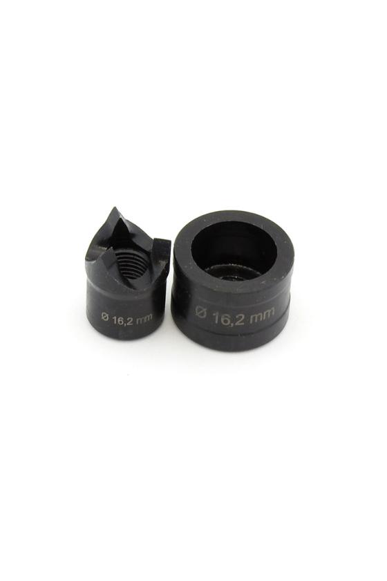 01772 Punzon y matriz Tristar Ø16.2mm M16