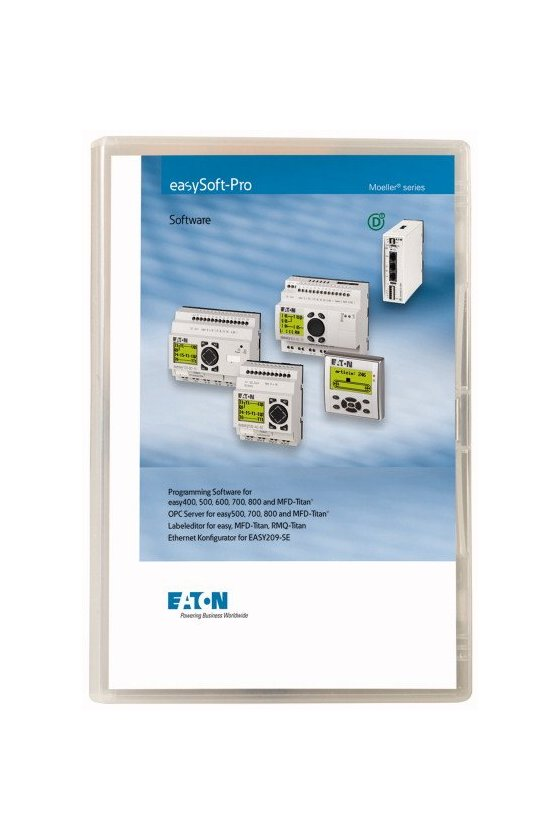 266040 Software de programación para easy400 / 500/600/700/800 / MFD-Titan - EASY SOFT PRO