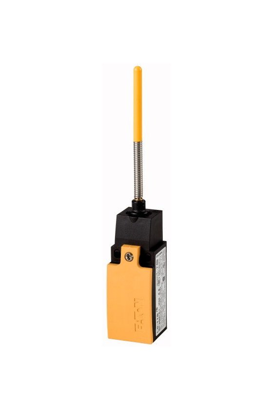 266104 Interruptor de posición, actuador de barra de resorte, 1 N / O, 1 NC, contacto de acción rápida  - LS-11S/S