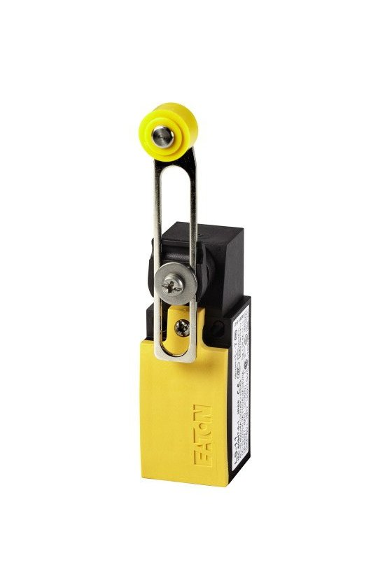 266119 Interruptor de posición, Palanca de rodillo ajustable, 1 N / A, 1 NC, Contacto de acción rápida - LS-11S/RL