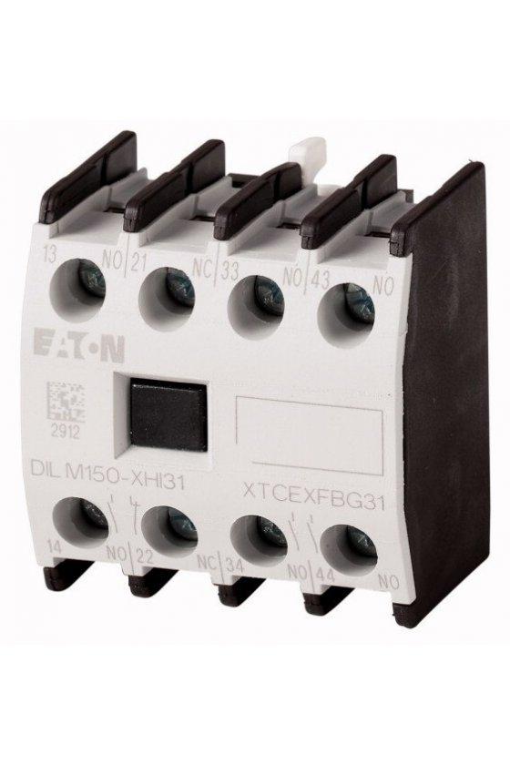 277952 Módulo de contacto auxiliar, tipo: contacto auxiliar de montaje frontal, 4 polos - DILM150-XHI04