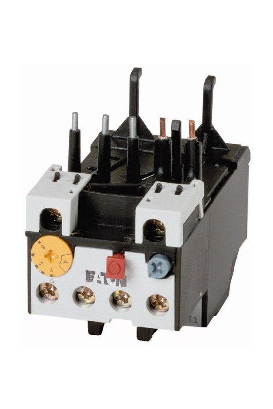 278435 Relé de sobrecarga, ZB12, Ir - 0.6 - 1 A, 1 N / O, 1 N / C, Montaje directo, IP20 - ZB12-1
