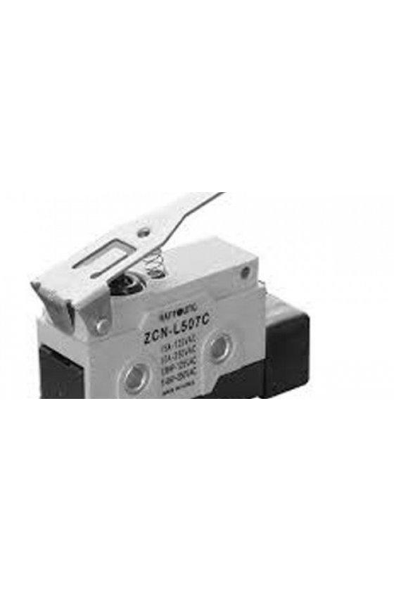 ZCN-L507C Micro Switch sellado con brazo de palanca mediana  1NA+1NC 10amp 250vca ZCN-L507C