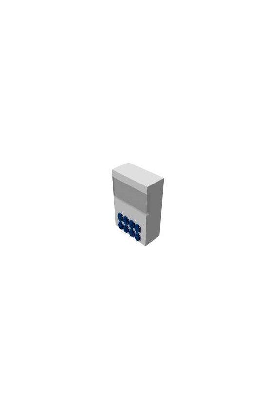73641401 Caja de distribución de Policarbonato 300x300x142mm 14 módulos in/out IP65 AKi14