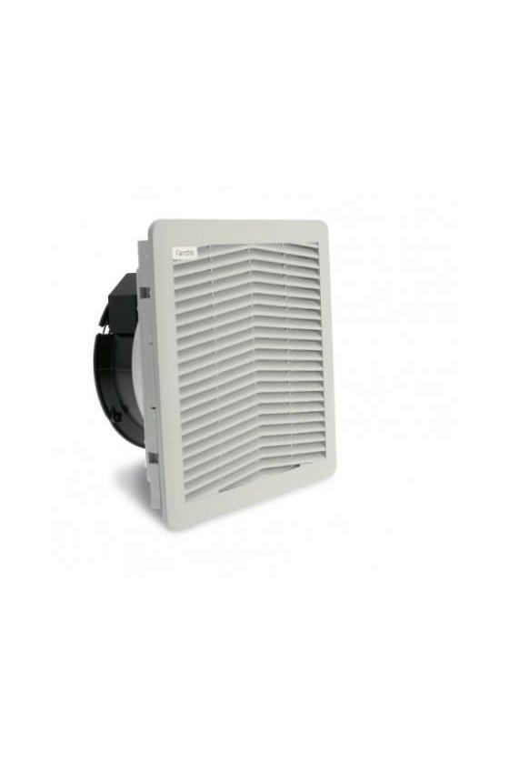 FF15PD24UN - Ventilador con filtro 250 x 250 x 111.6 mm 24 VDC/140 m3/h