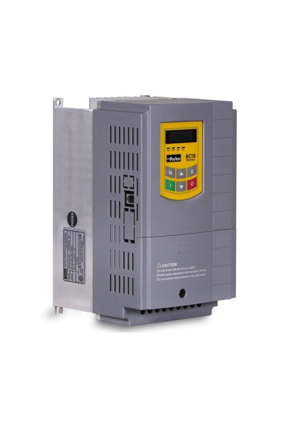 10G-33-0170-BN VFD037EL23A VARIADOR AC10V, 230VCA, 5HP, 17 Amps SOLO MODBUS RS-485