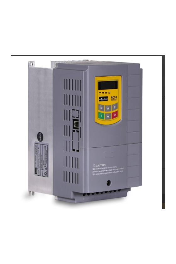 10G-43-0090-BN VARIADOR AC10V, 440VCA, 5HP, FRENO SOLO MODBUS RS-485